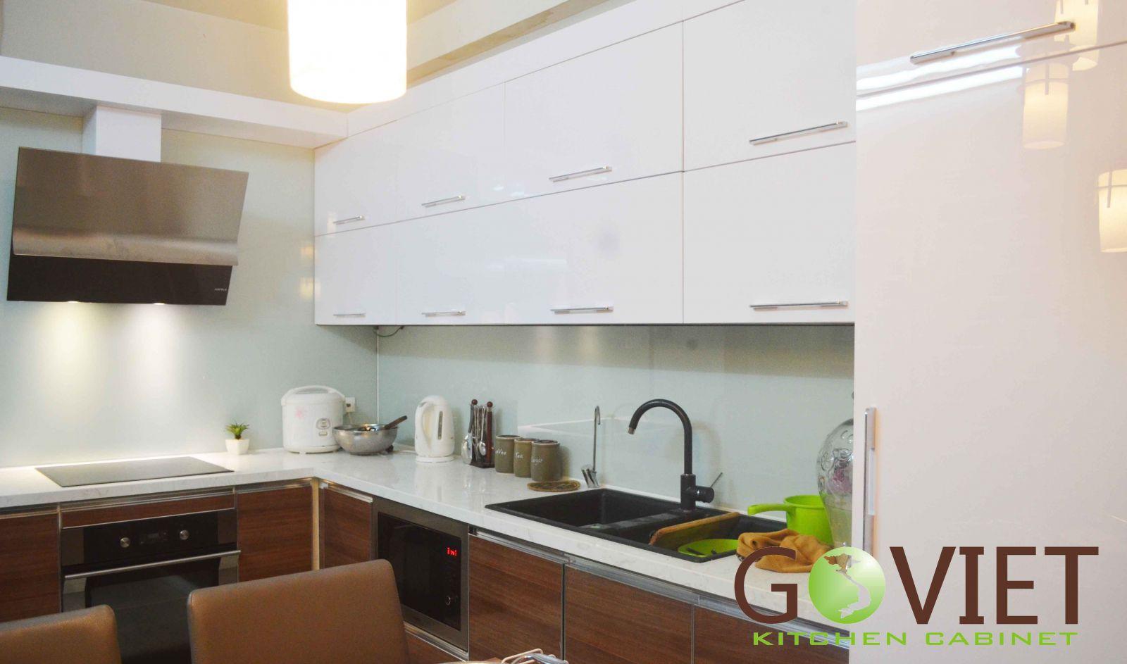 tủ bếp nhà anh Dũng - Duy Tân