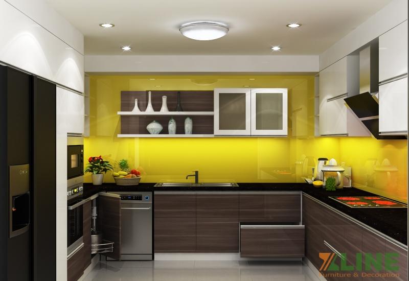 Tủ bếp nhà anh Sỹ -Hải Phát