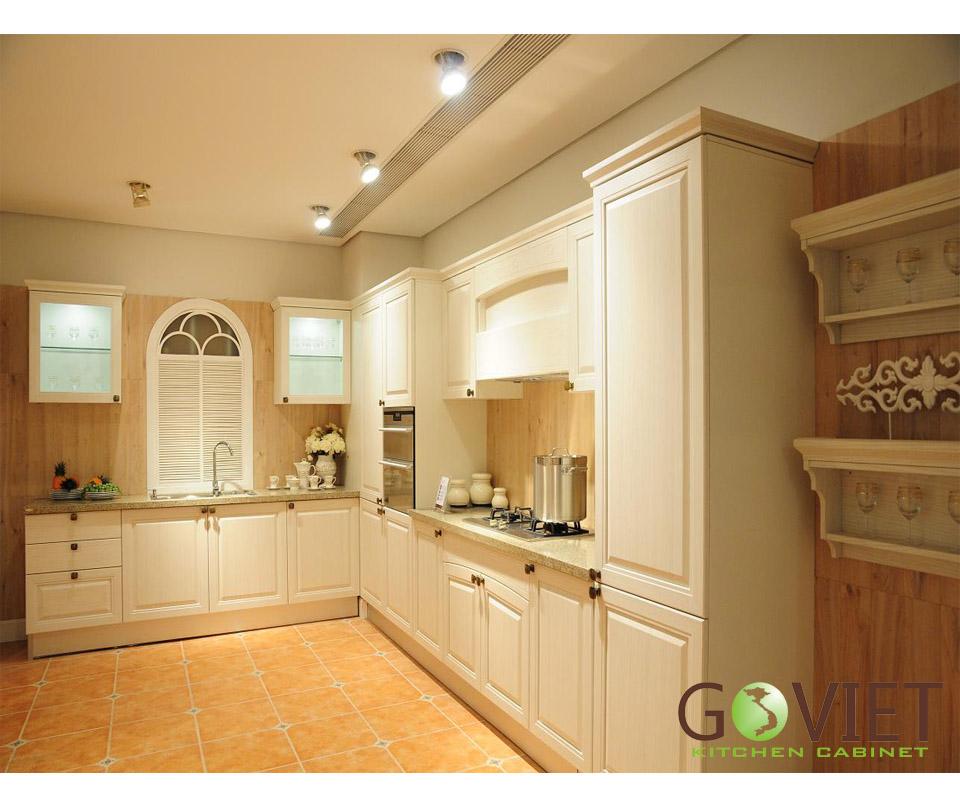 Tủ bếp dạng chữ L GVL005
