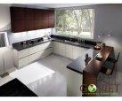 Tủ bếp gỗ công nghiệp Laminate L19