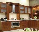 Tủ bếp gỗ tự nhiên sồi T2