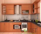 Tủ bếp gỗ Xoan Đào hiện đại