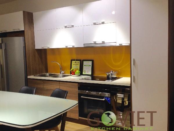 Tủ bếp đẹp hình chữ I TBGV-1120