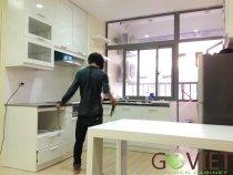 Thi công tủ bếp Anh Đức - Chung cư VOV