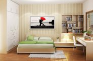 Nội thất phòng ngủ chung cư Platinum residences