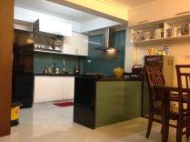 Tủ bếp gỗ nhà A.KHUÊ - 88 Vĩnh Hồ