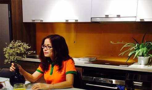 Mẫu tủ bếp đẹp Gỗ Việt